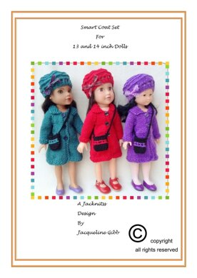 LC14 Smart Coat Set for 13 and 14 inch dolls
