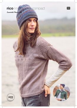Women's Cardigan and Jumper in Rico Essentials Merino DK - 1053 - Downloadable PDF