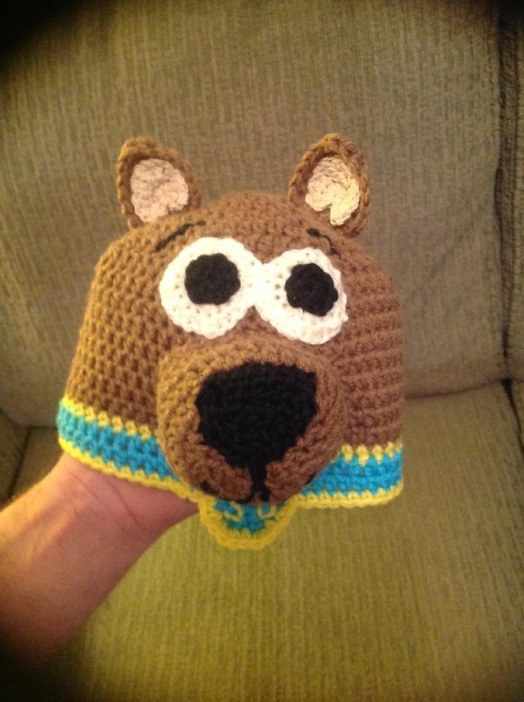 Whats Up Scooby Doo Inspired Hat Crochet Pattern By Tdlowe