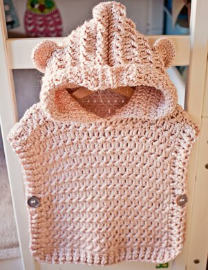 Hooded Poncho - Pullover