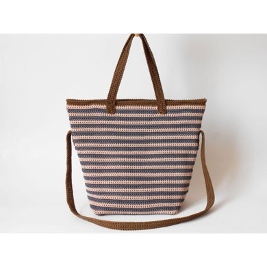 Striped bag pattern
