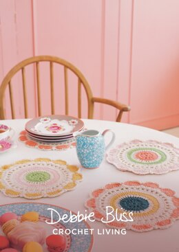 Dashing Doilies in Debbie Bliss Baby Cashmerino - DBS062 - Downloadable PDF