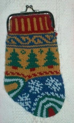 Stocking Purse Ornament