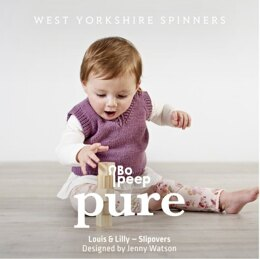 Bo Peep Pure Pattern Book in West Yorkshire Spinners - Leaflet
