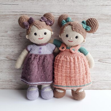 Lilly and May dolls