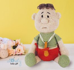 Amigurumi Baby Doll with Pacifier Crochet Pattern