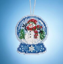 Mill Hill Charmed Snow Globes - Snowman Globe