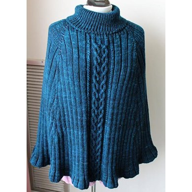 Celtic Princess Poncho