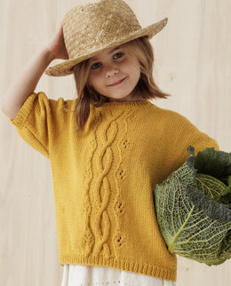 Jenny Sweater in Phildar Phil Ecocoton - Downloadable PDF