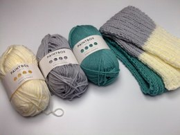 Three Palette Scarf
