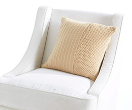 Classic Textures Pillow in Caron Simply Soft Collection - Downloadable PDF