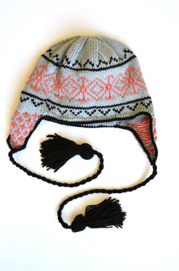 Starglow Ski Cap in Universal Yarn Little Bird - Downloadable PDF
