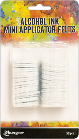 Ranger Tim Holtz Alcohol Ink Mini Applicator Tool Replacement Felt - 50/Pkg