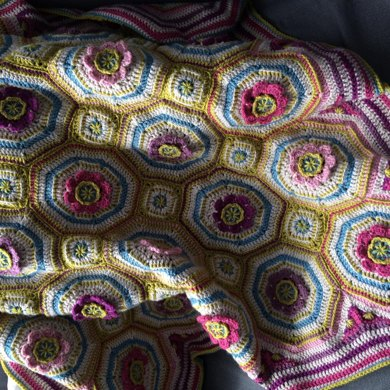Old Romance Blanket Crochet Pattern By Vera And Bess