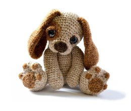 Amigurumi Puppy Dog - Moss