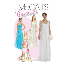 McCall's Misses' Lined Dresses M6030 - Sewing Pattern
