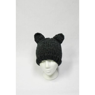 Super Bulky Animal Hat for Adults