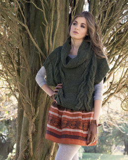 Mirkwood Sweater in Manos del Uruguay Clasica Wool Semi-Solid - 2011J