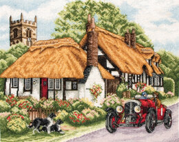 Anchor Village of Welford Cross Stitch Kit - 31cm x 25cm