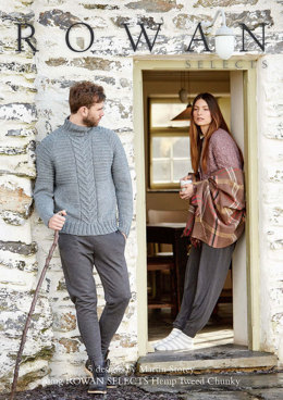 Hemp Tweed Chunky Collection by Rowan