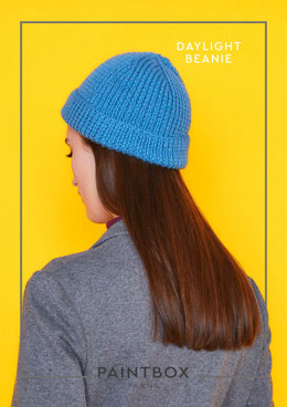Daylight Beanie in Paintbox Yarns Simply DK - Downloadable PDF