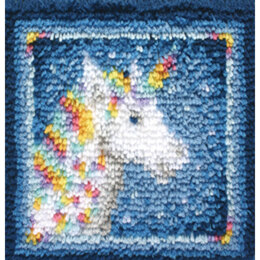 Wonderart Unicorn Latch Hook Kit