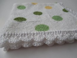 Crochet Edged Dish/Wash Cloths