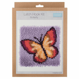 Trimits Butterfly Latch Hook Kit