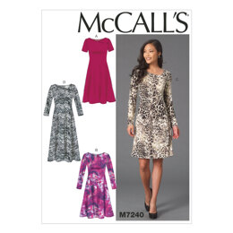 McCall's Misses' Dresses M7240 - Sewing Pattern