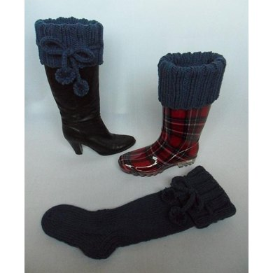 Long Knee High Chunky Boot Socks