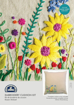 DMC Secret Garden (with Magic Paper) Embroidery Kit - 40cm x 1cm x 40cm