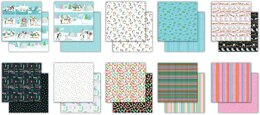 """Craft Consortium Double-Sided Paper Pad 6""""X6"""" 40/Pkg - Polar Playtime"""
