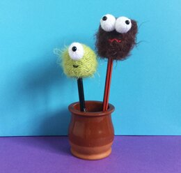 Monster Pencil Toppers