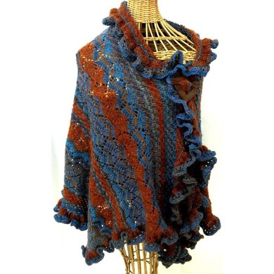 Starry Waves Shawl