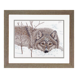 Dimensions Snow Daze Cross Stitch Kit