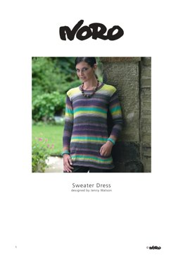 Sweater Dress in Noro Taiyo Sock
