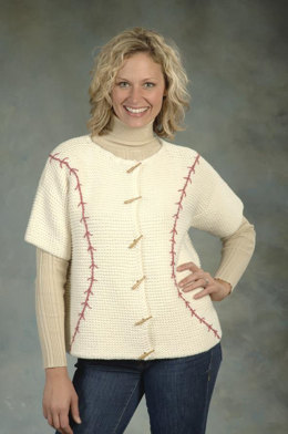 Jacket in Plymouth Yarn Jeannee Chunky - 1776 - Downloadable PDF