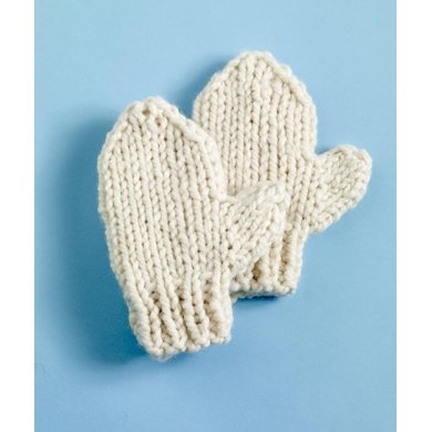 Ulster Mittens in Lion Brand Wool-Ease Thick & Quick - 90165AD