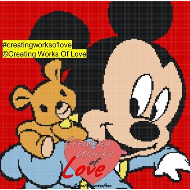 Baby Mickey Mouse Stitch Graph