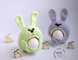 Sweet Bunnies. Easter egg Holders.