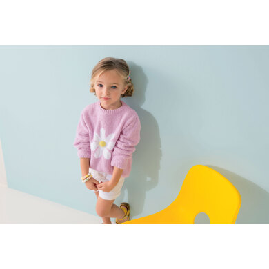 Claudia Sweater in Phildar Phil Baby Doll & Phil Tropical - Downloadable PDF