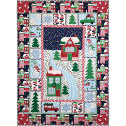 Michael Miller Fabrics Home for The Holidays Quilt - Downloadable PDF