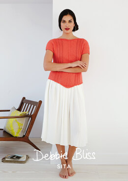 Gabriella Top in Debbie Bliss Sita - Downloadable PDF