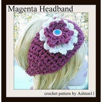 Crochet Headband or Neckwarmer | Crochet Pattern by Ashton11