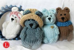 Loom Knit Teddy Bears