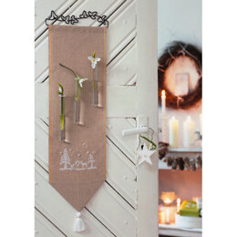 Winter Dreams - Door Hanging in Anchor - Downloadable PDF