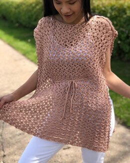 Poncho Summer Top