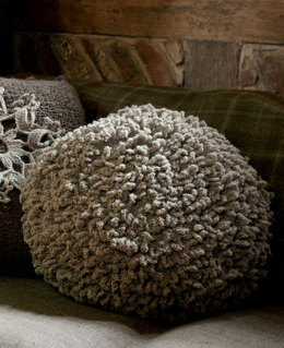 Ashby Cushion in Rowan British Sheep Breeds Fine Boucle