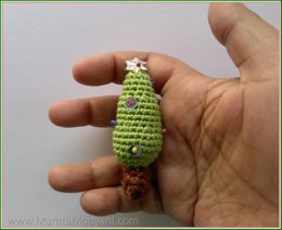 Crochet Christmas Tree Ornament Pattern Amigurumi Decorations