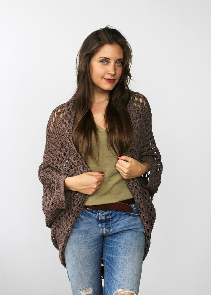 0b75b4621 Movie Night Cocoon Cardi Crochet pattern by Two of Wands